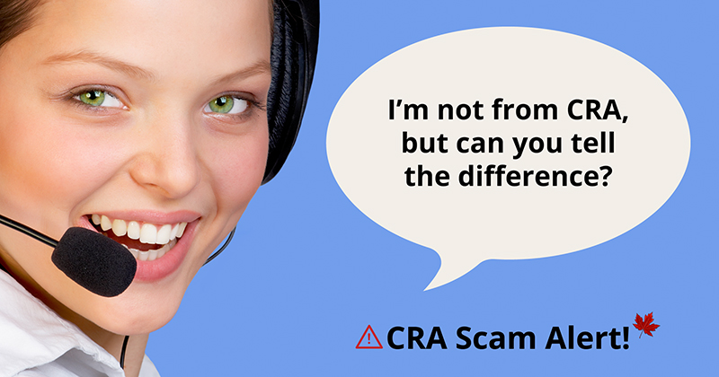 CRA scam fraud alert Calgary tax consultants